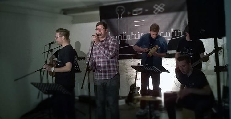 """Die Band """"Kopfsteinpflaster"""""""