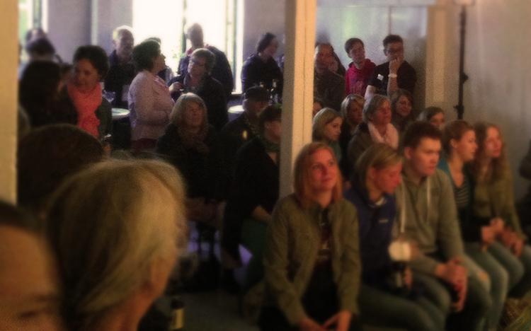 Unglaubliche 120 Gäste kamen zu der ersten Veranstaltung.
